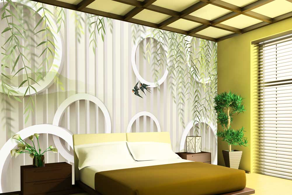 Wallpaper For Walls 48D Wallpaper For Bedrooms Walls And Murals Awesome 3D Bedroom Design Decor Collection